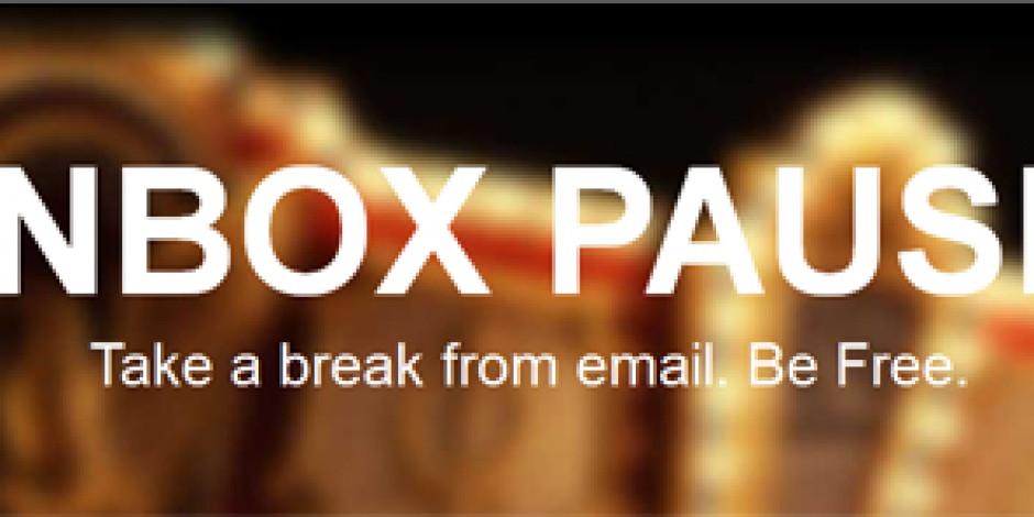 E-postalara 'DUR!' Diyen Chrome Eklentisi: Inbox Pause