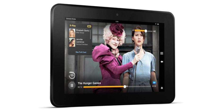 Amazon, İkinci Nesil Kindle Fire'ları ve Yeni E-Okuyucusu Kindle Paperwhite'ı Tanıttı