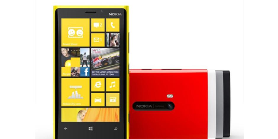 Nokia, Lumia 920'yi Kasımda Avrupa'da Satışa Çıkaracak
