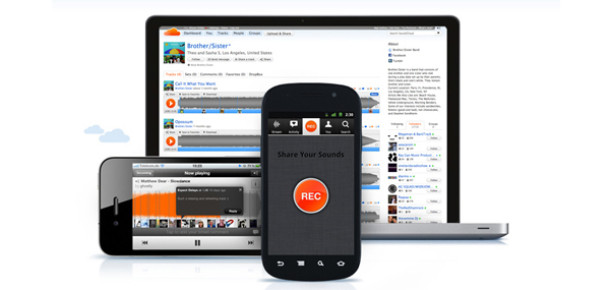 SoundCloud'un iPhone ve Android Uygulamalarına Güncelleme Geldi