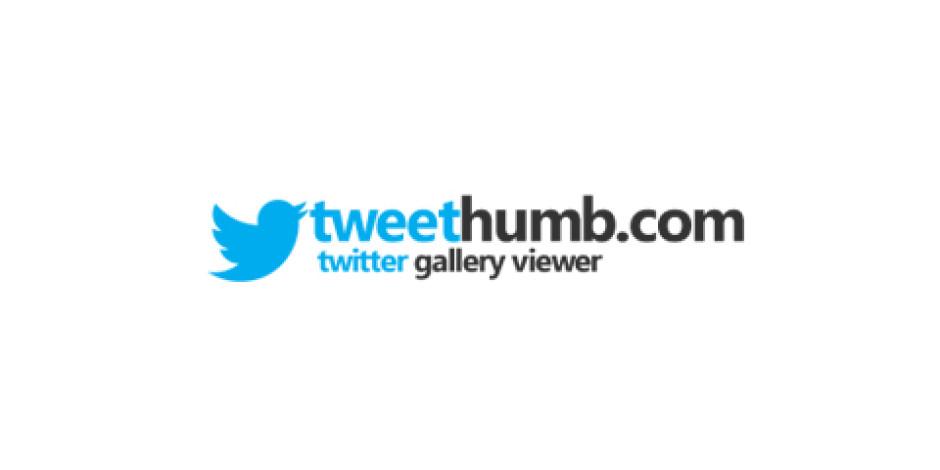 Twitter Fotoğraflarını Tek Bir Ekranda Görmek İçin Uygulama: TweeThumb