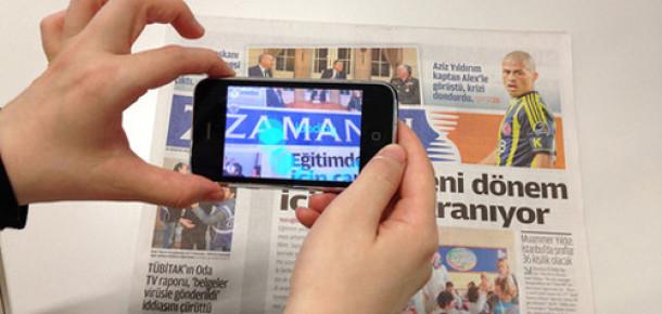 Zaman Gazetesinden Gazete Haberlerini Dijital İçerikler ile Destekleyen Uygulama