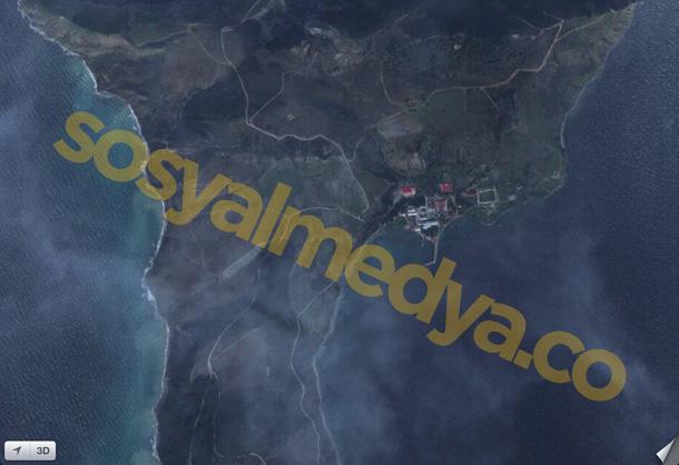 İmralı Adası #2 - Apple Haritalar