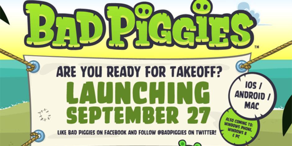 Bad Piggies Çıktı: Angry Birds'ün Düşmanları Artık Başrolde