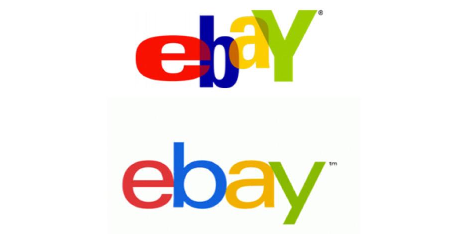 eBay'in 17 Senelik Logosu Tarih Oldu