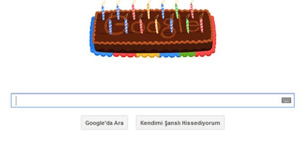 Google 14. Yaşını Kutluyor