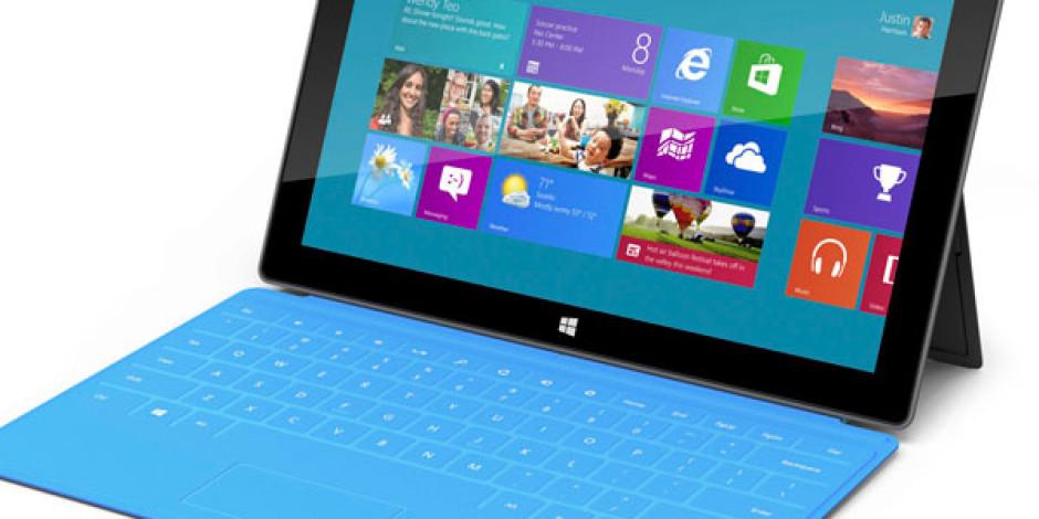Microsoft Office Tüm Windows RT Tabletlerde Ücretsiz Olacak