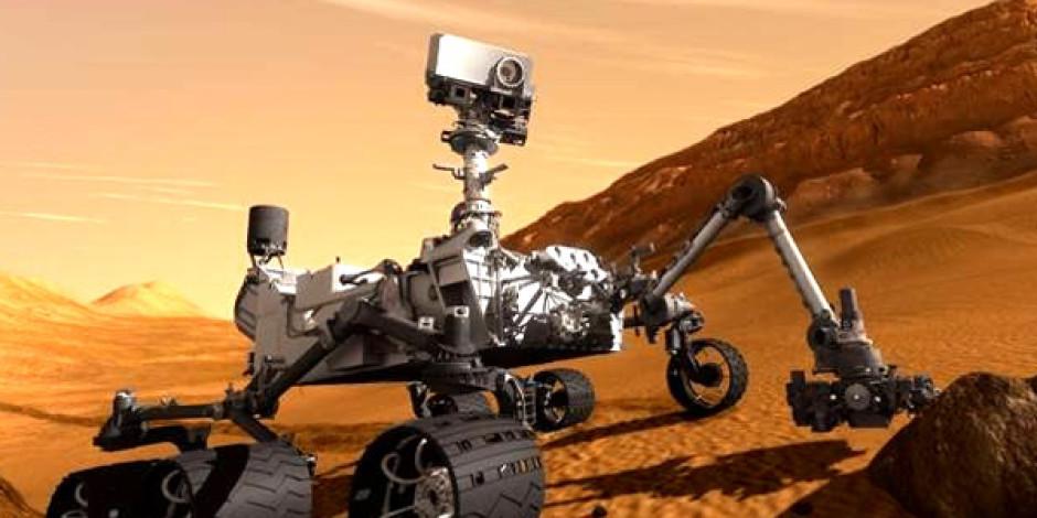 Mars'ta İlk Check-in Curiosity'den Geldi