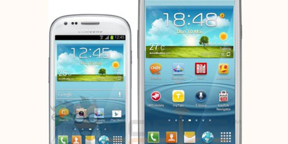 Samsung'tan 4 İnçlik Mini Galaxy S III