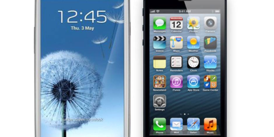 iPhone 5 Mobil Web Kullanımında Galaxy S3'ü Geride Bıraktı