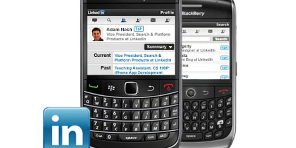 Linkedin'in Yenilenen Blackberry Uygulamasına Gelen Özellikler