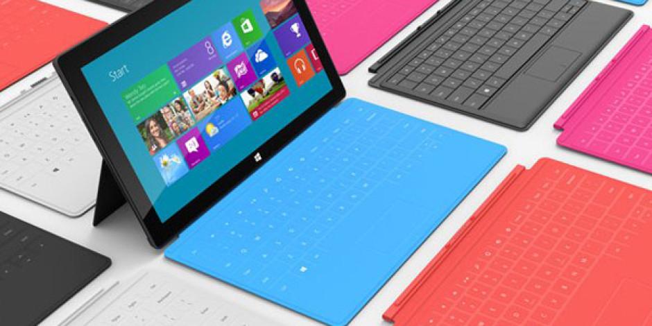 Microsoft Surface ve Diğer Tabletlerin Fiyat Karşılaştırması