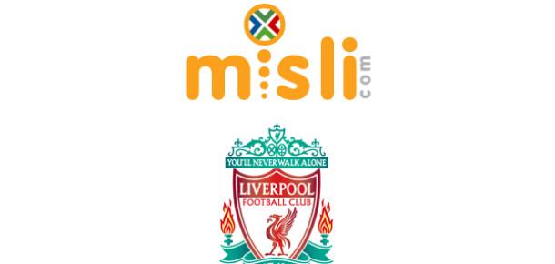Misli.com, Liverpool'un Resmi Bahis Ortağı Oldu