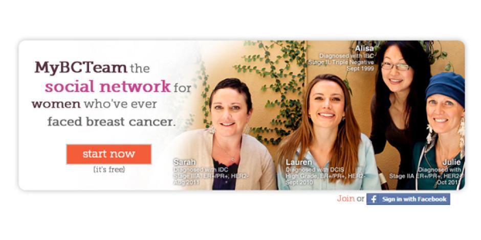 Meme Kanseriyle Savaşan Kadınlar İçin Sosyal Ağ: MyBreastCancerTeam