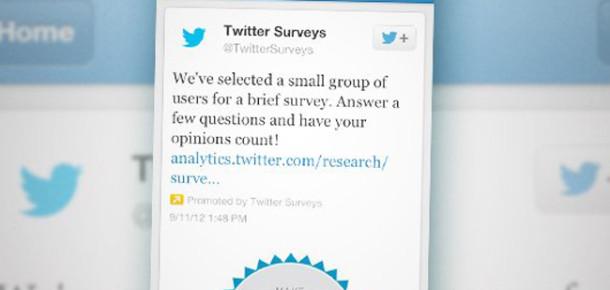 Twitter Anket Ölçümlemesine Başladı