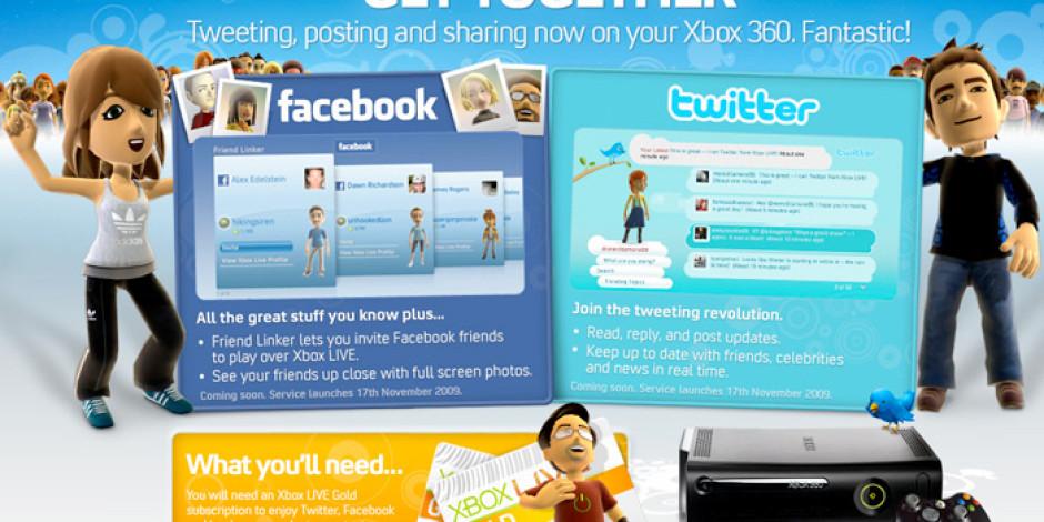 Facebook ve Twitter Uygulamaları XBox 360'tan Kaldırıldı