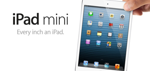 Apple'ın Yeni Tableti iPad mini Tanıtıldı