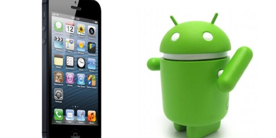 iPhone 5, Android'in Yükselişini Durdurdu