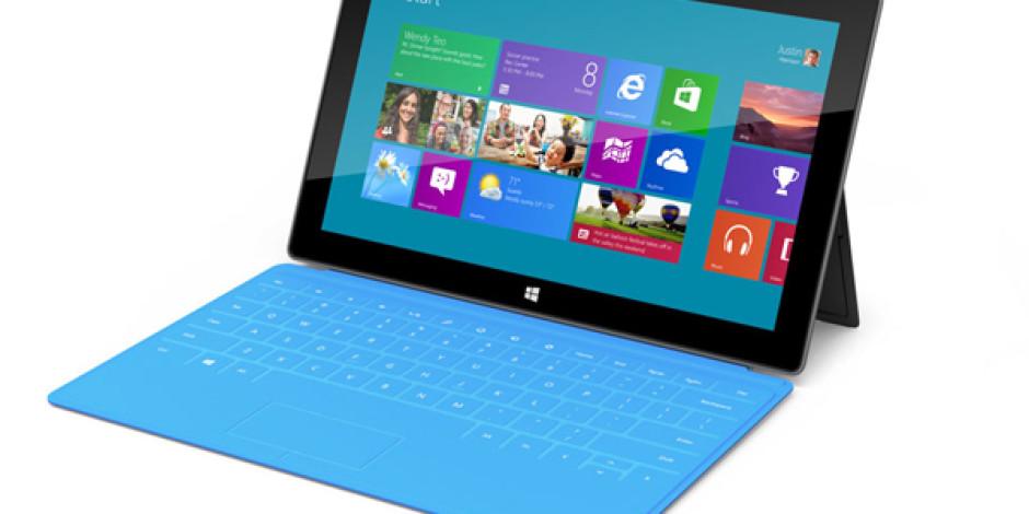iPad'in Rakibi Microsoft Surface, 26 Ekim'de Sahaya İniyor