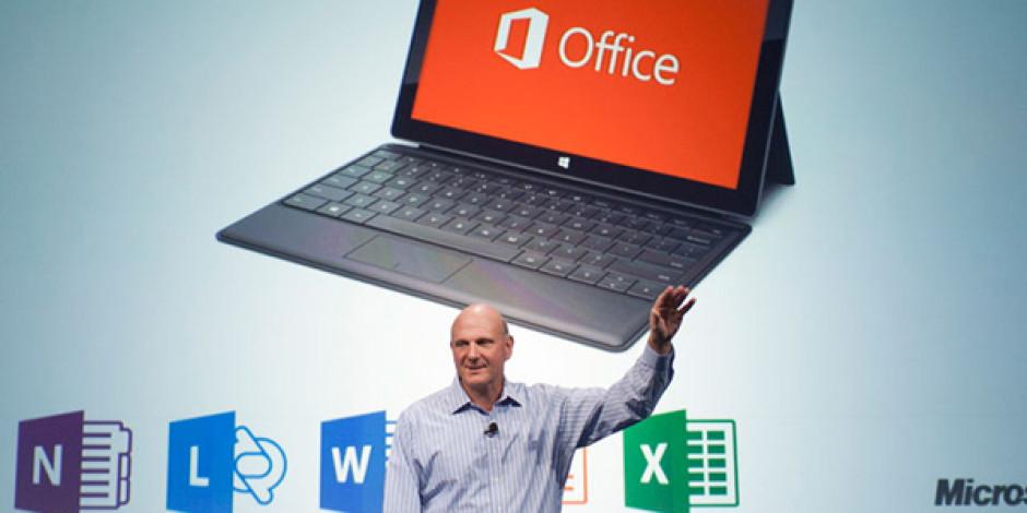 Office 2013'ün Mobil Kullanıcılarla Buluşma Tarihi: Mart 2013