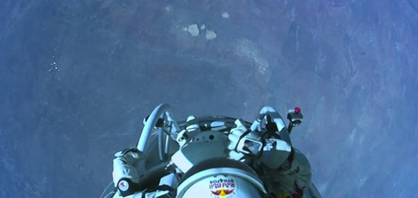 Felix Baumgartner'tan Youtube Rekoru