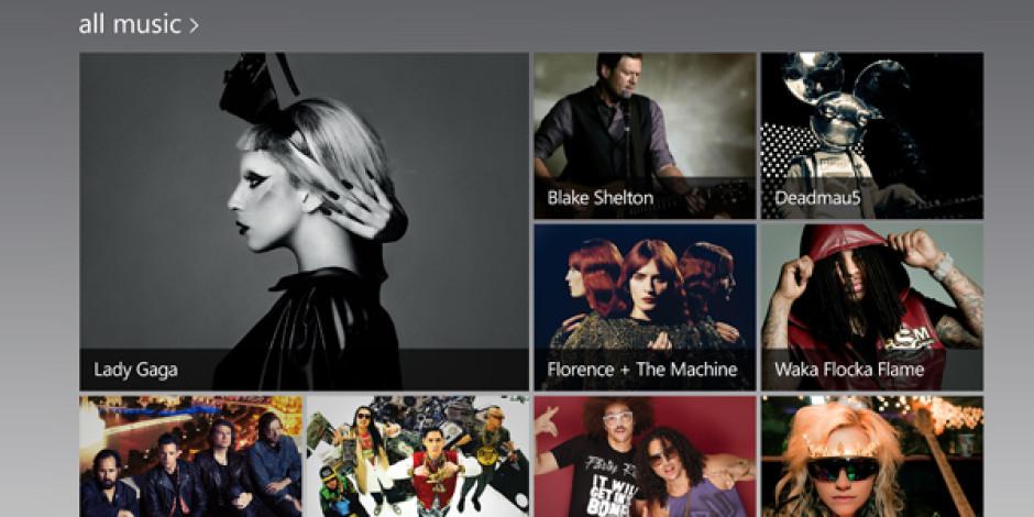 Microsoft İkinci Müzik Servisi Xbox Music ile Apple'a Yeniden Rakip Oluyor