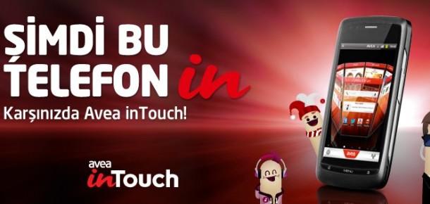 Avea İlk Akıllı Telefonu Avea inTouch'ı Tanıttı