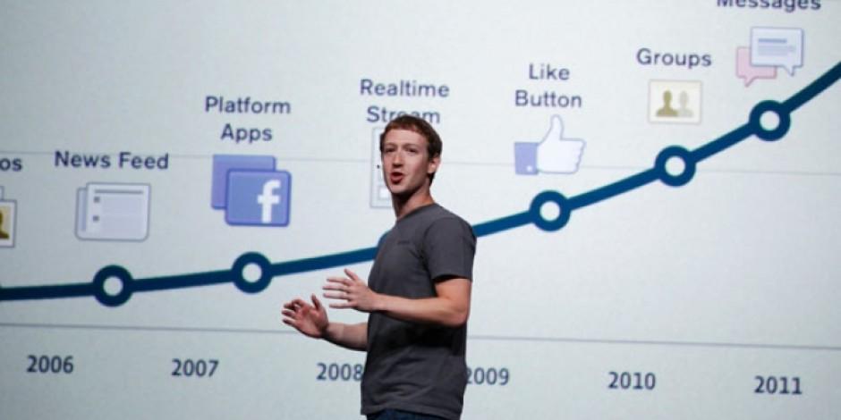 Facebook, Zaman Tüneli'ni (Yine) Değiştiriyor