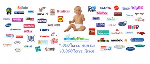 Annelutfen: 0-12 Yaş İçin 1000 Markadan 10 Binin Üzerinde Ürün