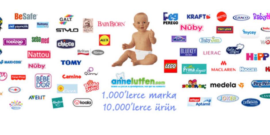 Annelütfen: 0-12 Yaş İçin 1000 Markadan 10 Binin Üzerinde Ürün