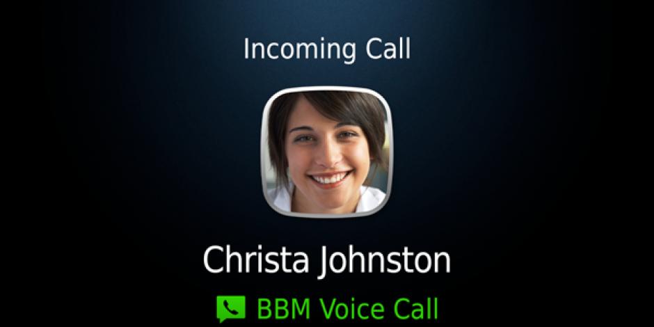BBM'e Sesli Görüşme Özelliği Geliyor