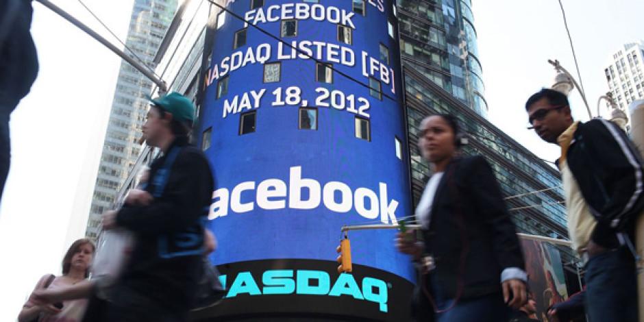 Facebook Hisseleri Dört Ayın En Yüksek Seviyesinde