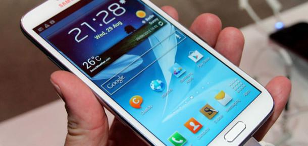 Galaxy Note II, Bir Ayda Üç Milyondan Fazla Satıldı