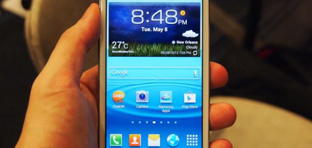 Üçüncü Çeyrekte En Çok Satan Akıllı Telefon: Samsung Galaxy S 3