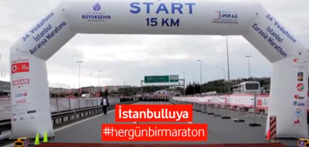 Vodafone İstanbul Avrasya Maratonu'nu Koşanların Gözünden İzleyin