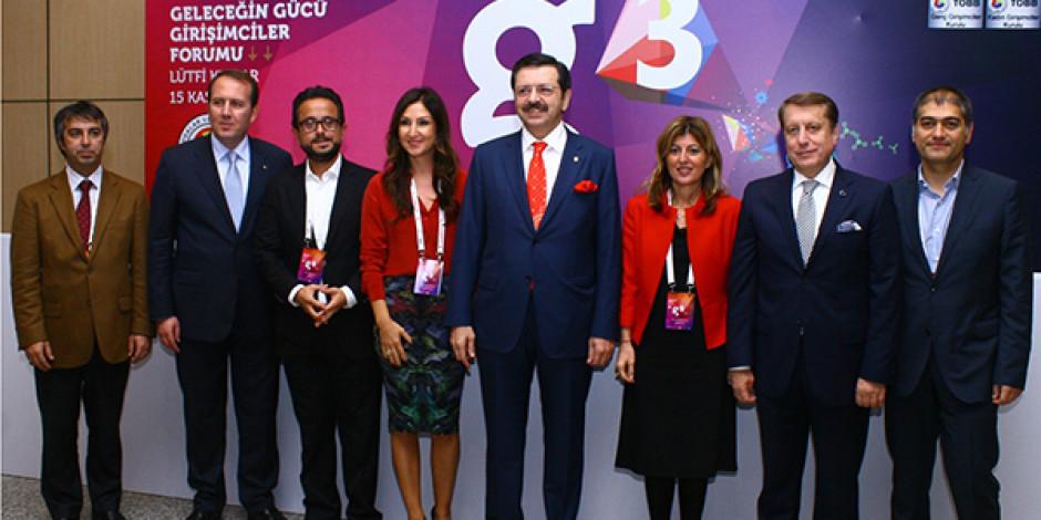 Global Girişimcilik Haftası Kapsamında Düzenlenen g3 Forumu'nda Tecrübe Konuştu