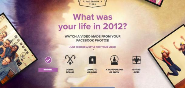Facebook'ta 2012'yi Nasıl Geçirdiğinizi Öğrenmek İster misiniz?