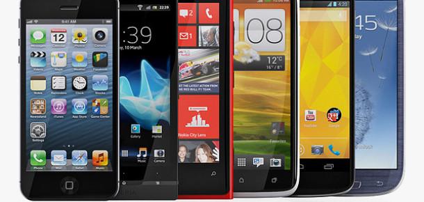 2012'nin En İyi 5 Akıllı Telefonu
