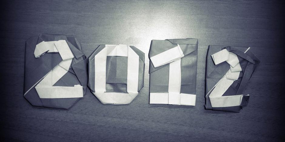2012'de Neler Olup Bitti 2012 Zaman Tüneli İsimli Facebook Sayfasında