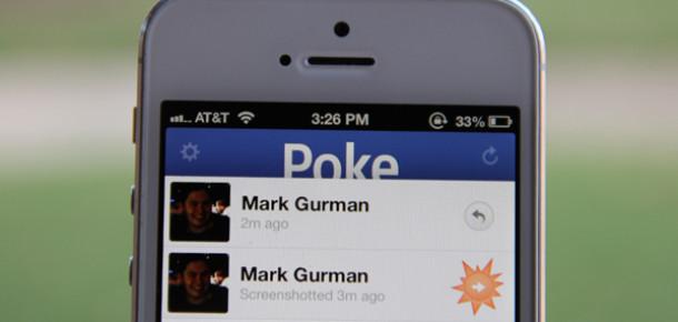 Facebook Yeni Mesajlaşma Uygulaması Poke'u Yayınladı