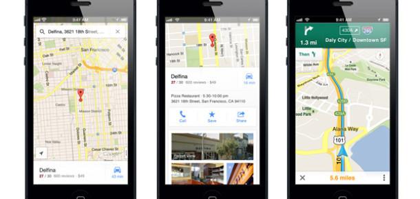 Google Maps'in iOS Uygulaması Çıktı!