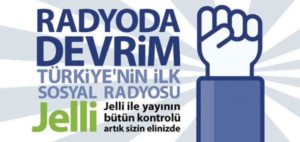 Karnaval.com'un Sosyal Radyo Uygulaması: Jelli