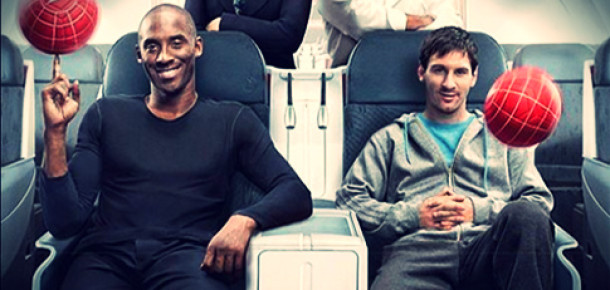 Dünya Türk Hava Yolları'nın Kobe ve Messi'li Reklamını Konuşuyor