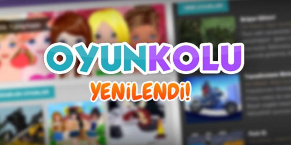 Oyunkolu.com Yeni Tasarımı ile Oyun Severleri Karşılıyor