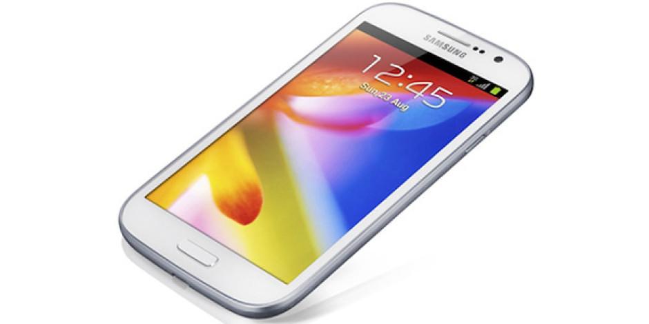 Samsung Yeni 5 inçlik Çift Hatlı Akıllı Telefonu Galaxy Grand'i Duyurdu