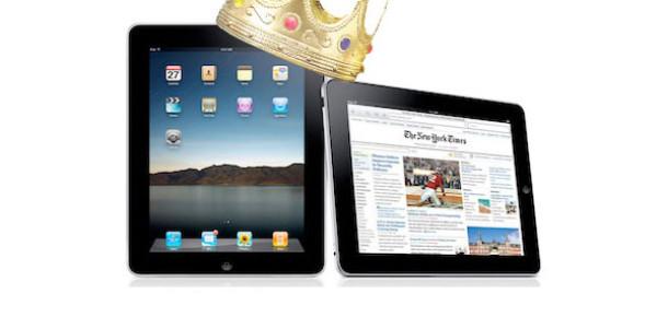 iPad, Diğer Tüm Tabletlerin Toplamından 7 Kat Daha Fazla Trafik Üretiyor