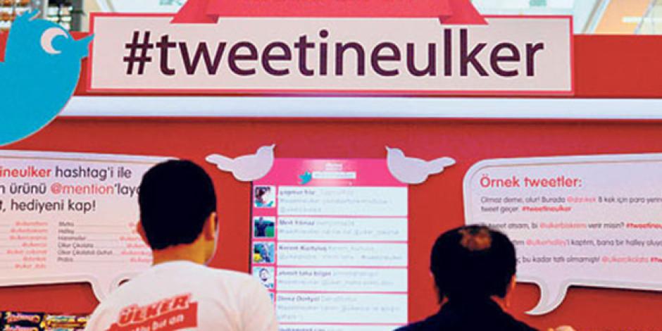 Ülker Tweet Atana Bir Ürününü İkram Ediyor