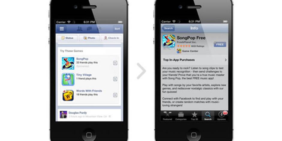 Facebook'un Mobil Uygulamalara Yönelik Reklamları İyi Sonuç Veriyor