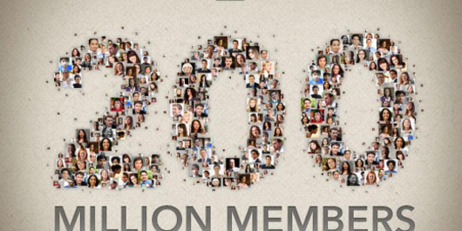 Linkedin 200 Milyon Üyeye Ulaştı