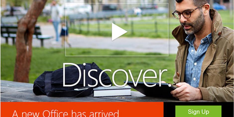 Microsoft, Office 2013'ü Yayınladı